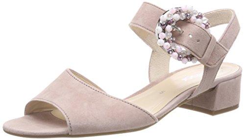 Sandali Con Il Cinturino Alla Moda Da Donna Gabor Multicolore (rosa Antico)