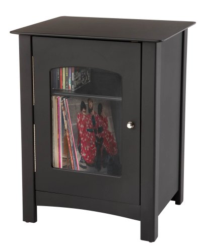 Crosley ST75-BK Bardstown Entertainment Cabinet, Black
