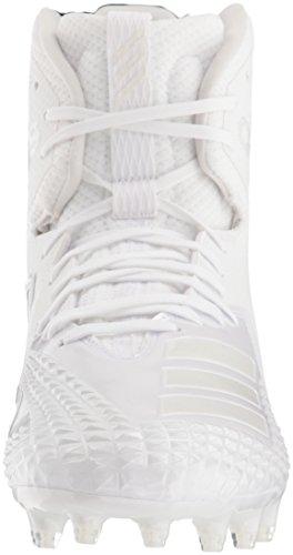 Pictures of adidas Men's Freak X Carbon Mid DB0243 White/White/White 5