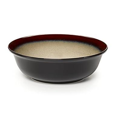 Pfaltzgraff Aria Round Stoneware Vegetable Bowl (10-Inch, Red)