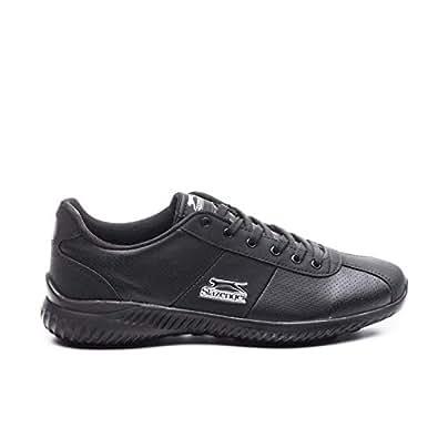 Erkek Slazenger SA28LE006-500 Spor Ayakkabı, Siyah, 40