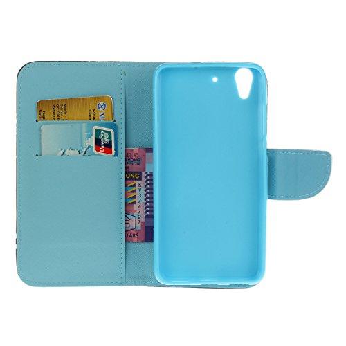 Ecoway Serie pintada Caja del teléfono de moda para Huawei Y6 II / Huawei Y6 2 / Huawei Honor 5A - Starry sky Text