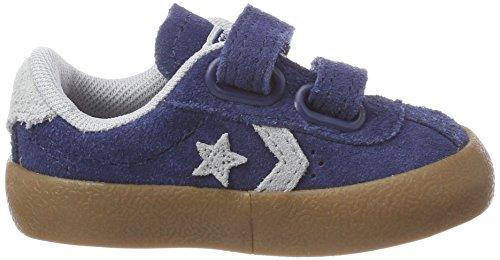 Converse Breakpoint 2v OX Navy/Wolf Grey/Gum, Zapatillas Unisex Niños Blau (Navy/Wolf Grey/Gum)