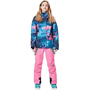 UUT Conjunto de Traje de esquí Mujer Impermeable Invierno al Aire ...