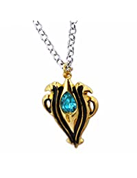 Costhat Fire Emblem Imitation Diamond Necklace Pendant Key Chain Torque Bracelet