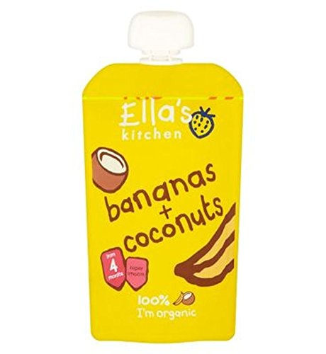 Ella'S Kitchen Bananas + Coconuts From 4 Months 120G - Pack of 2
