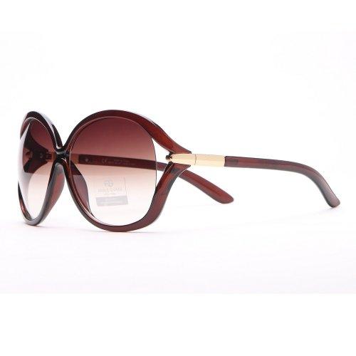 Anais Gvani Chic Open Temple Fashion Sunglasses - Sunglasses 2014 Chic