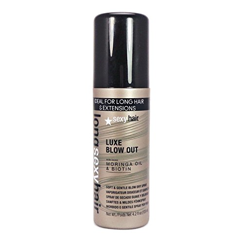 Sexy Hair LSH Luxe Blow Out Soft And Gentle Dry Spray, 4.2 Fluid Ounce