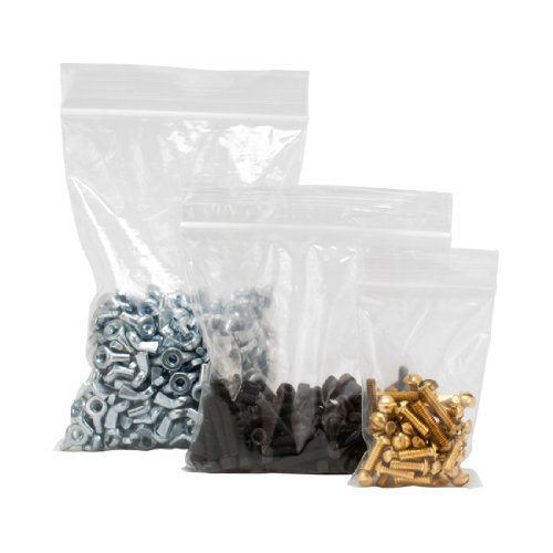 1000 2MIL 9 x 12 Inch Ziploc Shipping Reclosable Lock Zipper Resealable Bags