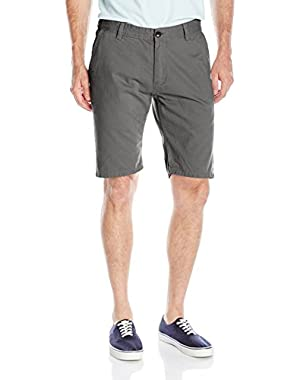 Men's Everyday 21 in. Chino Shorts and HDO Travel Sunscreen (15 SPF) Spray Bundle