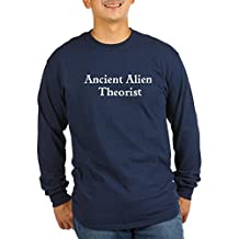 CafePress - Ancient Alien Theorist - Unisex Cotton Long Sleeve T-Shirt