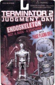 TERMINATOR 2 JUDGEMENT DAY ENDOSKELETON Action Figure - Mint on Card