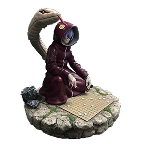 (Fallhuoz Naruto Medical Ninja Yakushi Kabuto Play Chess Scenes Gk Resin Statue Action Figure Collection Model Toy X718)