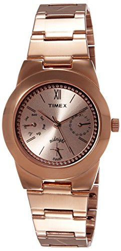 Timex Analog Brown Dial Women #39;s Watch TW000J106