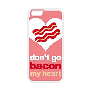 iPhone 6 Plus 5.5 Inch Cell Phone Case White Bacon My Heart Tlfcb