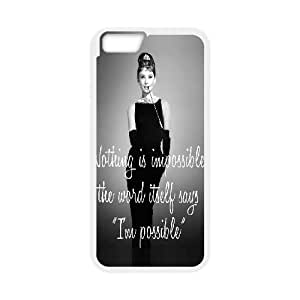 Audrey Hepburn Quotes Design Case Cover For Ipod Touch 4 custom ygtg-781736