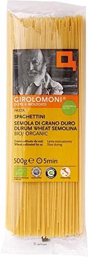 [創建社ジロロモーニ] パスタ デュラム小麦 有機スパゲッティーニ 500g