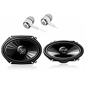 "- Upgraded Blue Poly Injection Cone 3-Way 300 Watts w// Non-fatiguing Butyl Rubber Surround 80-20Khz Frequency Response 4 Ohm /& 1 ASV Voice Coil Pyle PL573BL 5/"" x 7/"" Car Sound Speaker Pair"