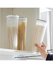 GGJIN Kitchen Noodles Box Plastic Storage Box Grain Cereal Storage Tank Food Storage