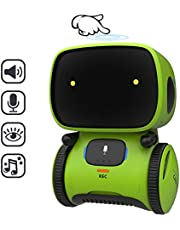 REMOKING STEM Educational Robot for Kids,Dance,Sing,Speak,Walk in Circle,Touch Sense,Voice Control, Education Partners and Fun Playmates