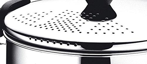 Diametro 22 cm Pentola in Acciaio Inox 5.0 Litri Lagostina Pastapot