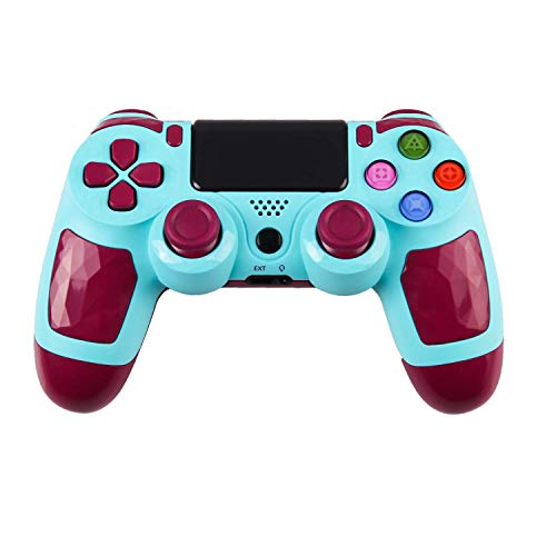ZFY Z01 Wireless PS4 Controller, Wireless Bluetooth Gamepad Joystick Controller for Playstation 4 with Charger Cable for PS4 (Blue)