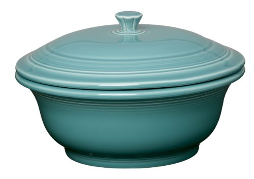 Fiesta 70-Ounce Covered Casserole, Turquoise]()