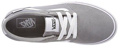 Vans Unisex-Kinder Chapman Stripe Sneaker Grau (Suede/canvas)
