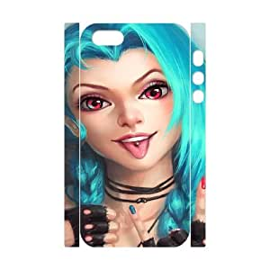iphone 5 5s Cell Phone Case 3D League Of Legends Jinx Gift xxy_9855741