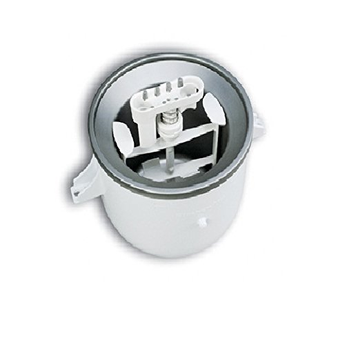 KitchenAid KICA0WH 2 Quart Ice Cream Maker Stand Mixer Attachment...