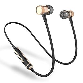 Sonido Intone H6 marca inalámbrica Bluetooth auriculares deporte running auriculares con micrófono para iPhone Xiaomi Samsung MP3 fone de ouvido: Amazon.es: ...