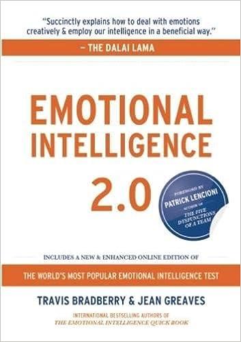Emotional Intelligence 20 Travis Bradberry Jean Greaves Patrick M Lencioni 2015974320625 Amazon Books