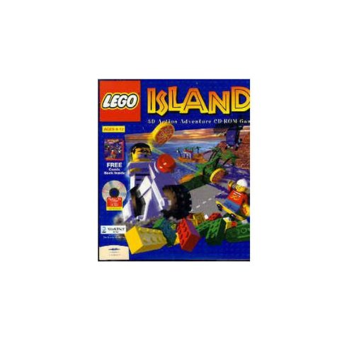 Lego Island 3D Action Adventure CD-Rom Game ()
