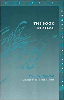 Book The Book to Come (Meridian: Crossing Aesthetics)