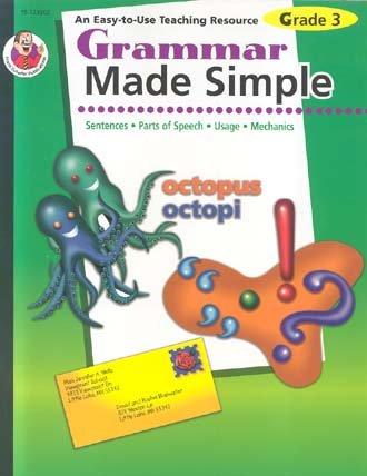 Grammar Made Simple, Grade 3 pdf