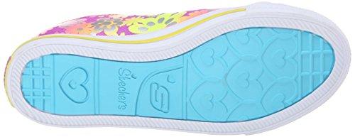 Skechers Chit ChatGlint & Gleam - zapatilla deportiva de lona niña PRMT