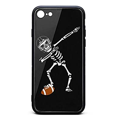 iPhone 6/6S Case Dabbing Skull Football Ultra Slim Case Anti-Slip TPU Soft Rubber Silicone Cover Phone Case for iPhone 6 6S Case [4.7inch]