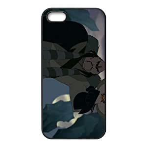 iPhone 5,5S Phone Case Black Mulan Shan Yu DZW9552863