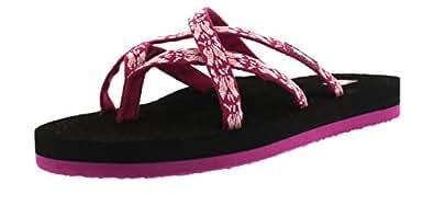 Teva Women's Olowahu Sandal, Hazel Magenta, 5 M US