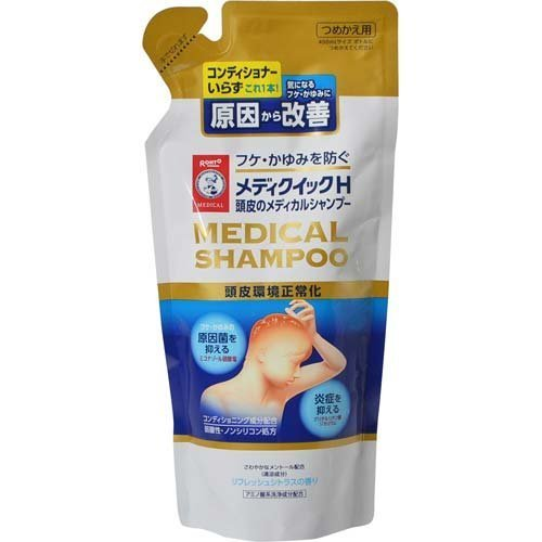 Japanese Eye Care 280ml refill media Quick H scalp of medical shampoo