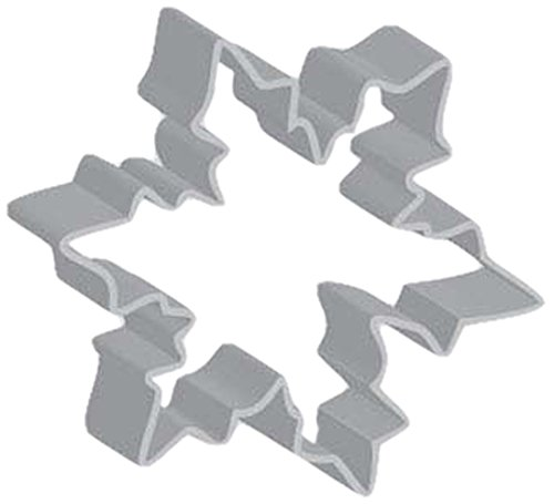 Snowflake Cookie Recipe - Flavortools Snowflake Cookie Cutter with Exclusive Flavortools Copyrighted Cookie Recipe Booklet, 3-1/2-Inch