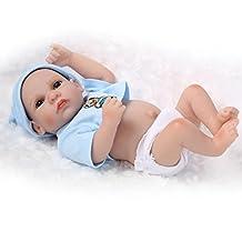 "TERABITHIA Miniature 10"" Cute Real Life Reborn Baby Dolls Silicone Vinyl Full Body Boy"
