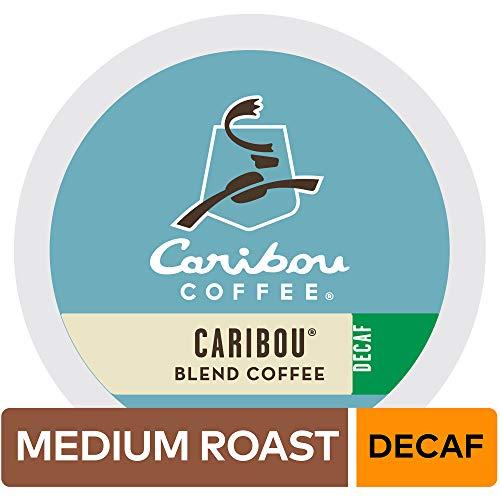 (Caribou Coffee Single Serve Coffee K-Cup Pod, Caribou Blend Decaf, 96 Count )