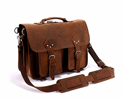 Leyden and Sons Leather Bag Co. - Original Messenger Bag - Suede Utility Bag