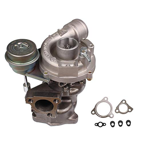 HENYEE K03 Turbo Exact Fit for Volkwagen VW PASSAT & AUDI A4 1996-2006 A/R .87-1.8 1.8T 250+HP Turbocharger & Gaskets ()