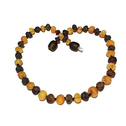 Child Pippin Genuine Raw Green Honey Baltic Amber Necklace Love Amber x UK ()