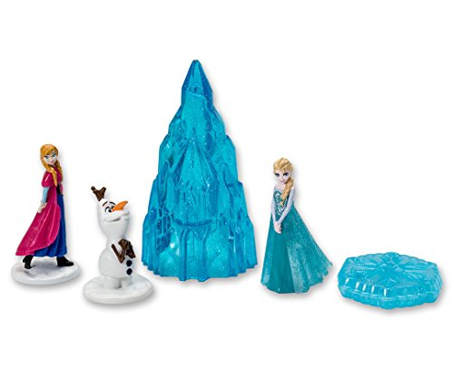 DecoPac Frozen Winter Magic Signature Cake Topper Set (Birthday Cake Toppers Disney)