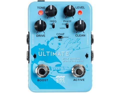 EBS Billy Sheehan Ultimate Signature Drive Pedal (Best Fuzz Pedal Ever)