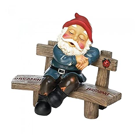 Delicieux Dreaming And Wishing Gnome Garden Decor
