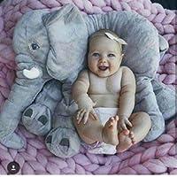 Uyku Arkadaşım Fil 60 cm - Büyük Yumuşak Uyku Arkadaşım (Gri)